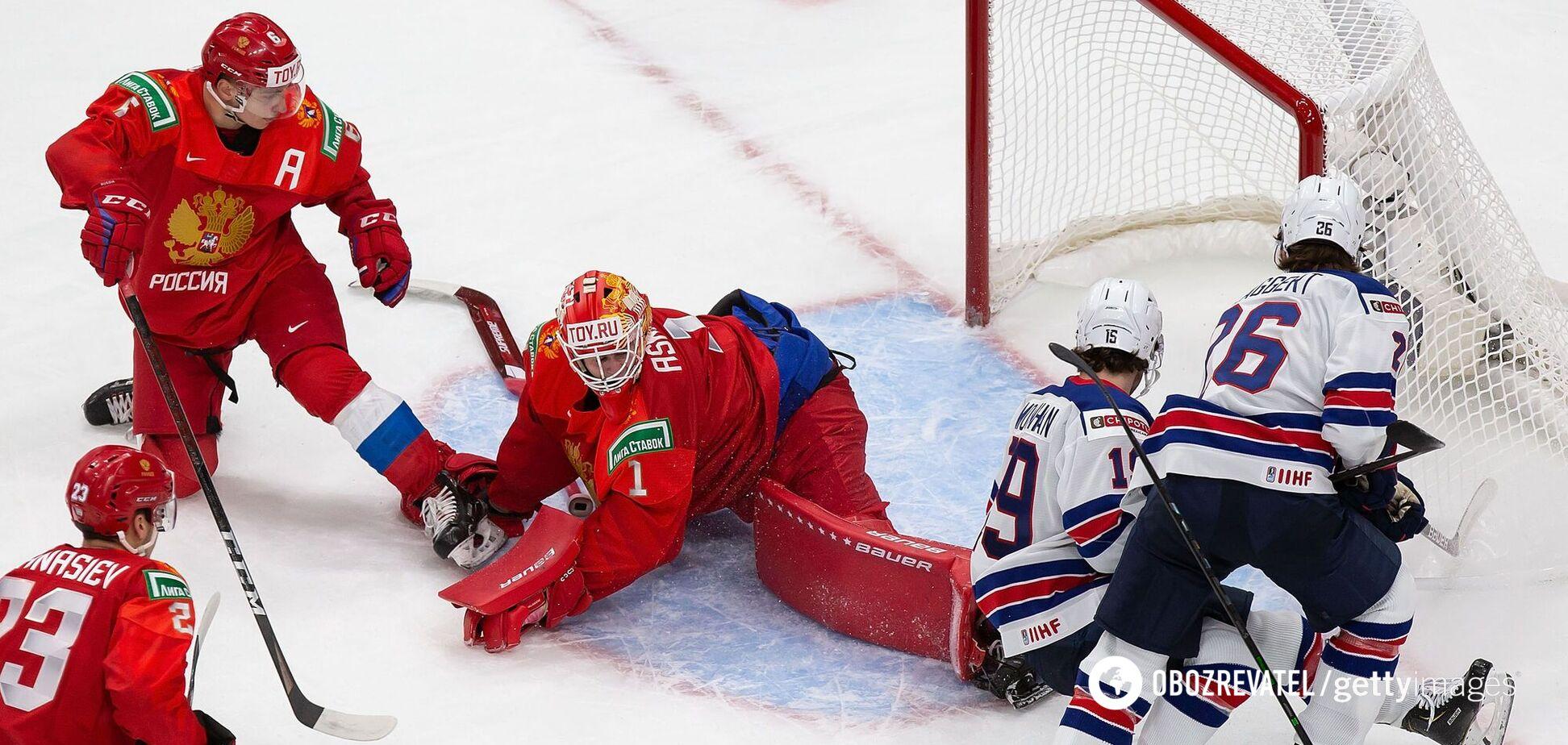 З'явилося відео з роздягальні збірної Росії після матчу iз США на МЧС із хокею