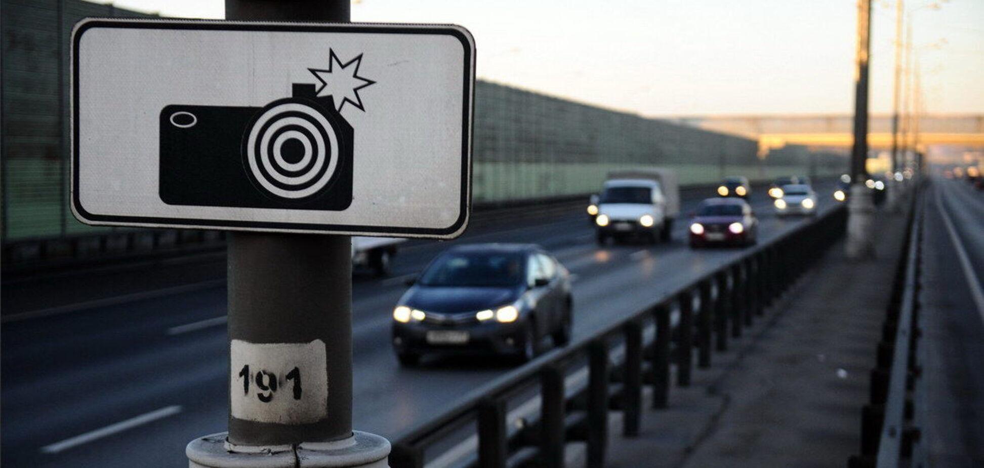 В Україні камери автофіксації зняли більше 1 млн порушень ПДР з початку літа