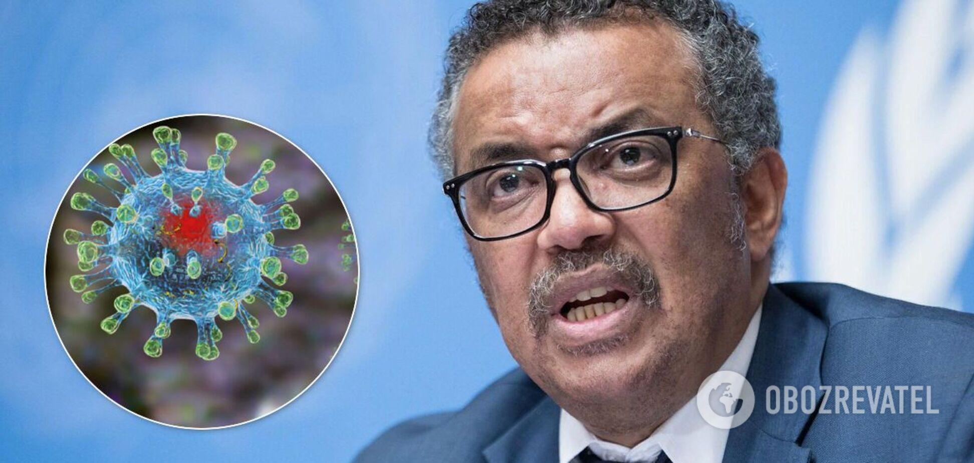 Глава ВОЗ: Люди не готовы к пандемиям