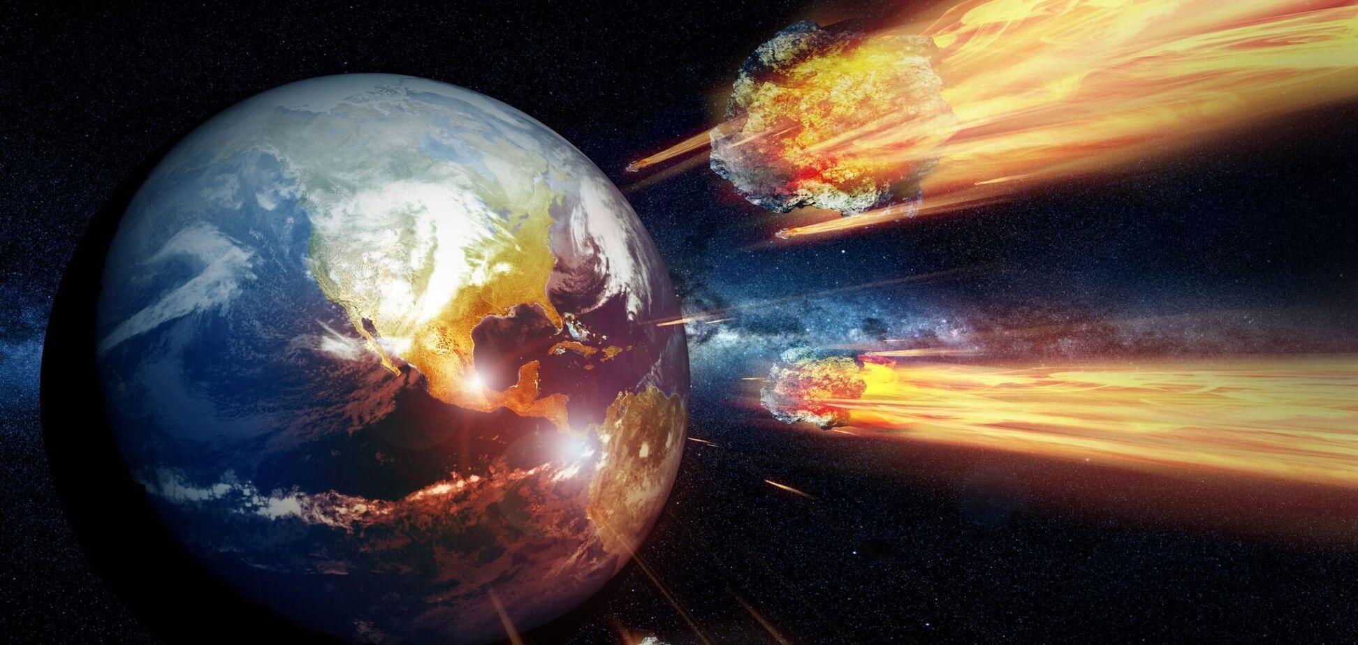 Планета Земля и астероиды