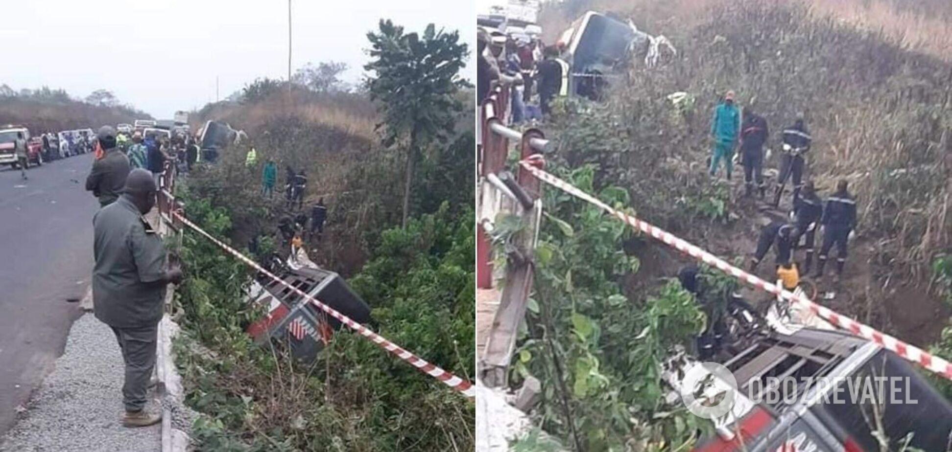 У Камеруні в ДТП з автобусом загинули 60 осіб