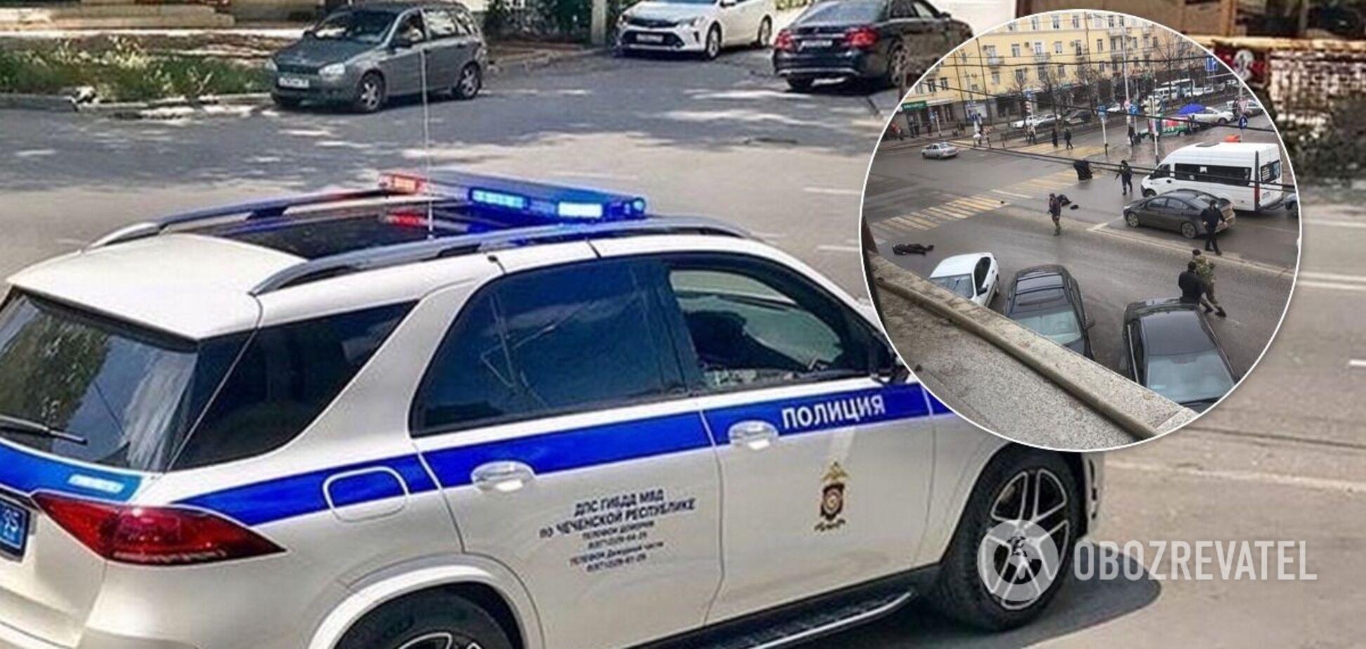 ЧП произошло в центре Грозного