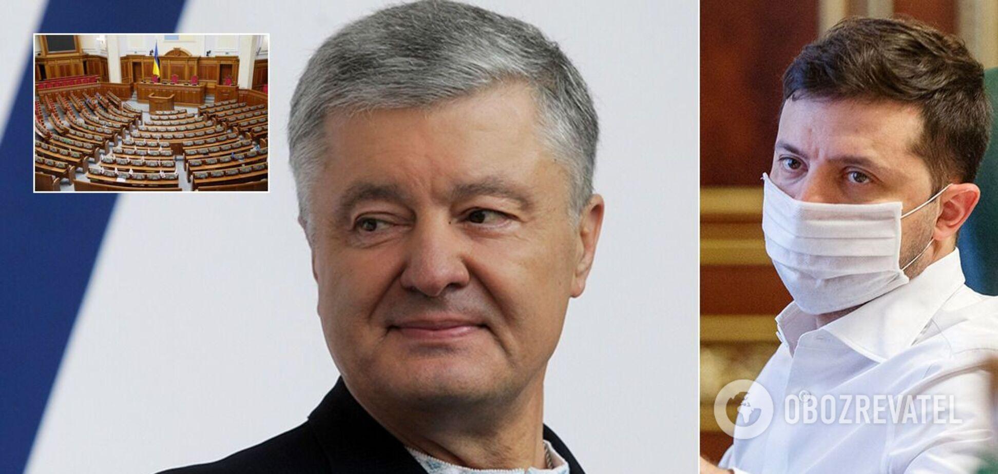 З'явився прогноз проходження політсил у Раду: партія Порошенка наростила підтримку, а Зеленського – втратила