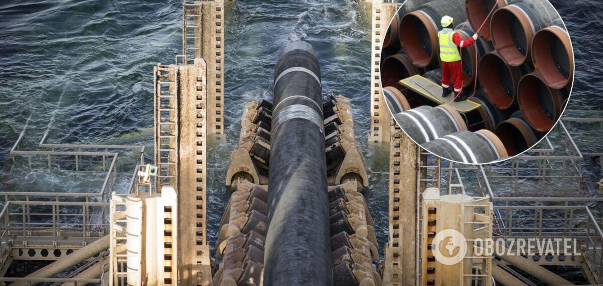 В Германии экологи заблокировали строительство 'Северного потока-2'