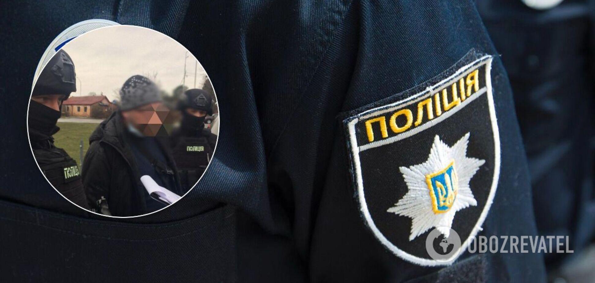 Поліцейські затримали зловмисника
