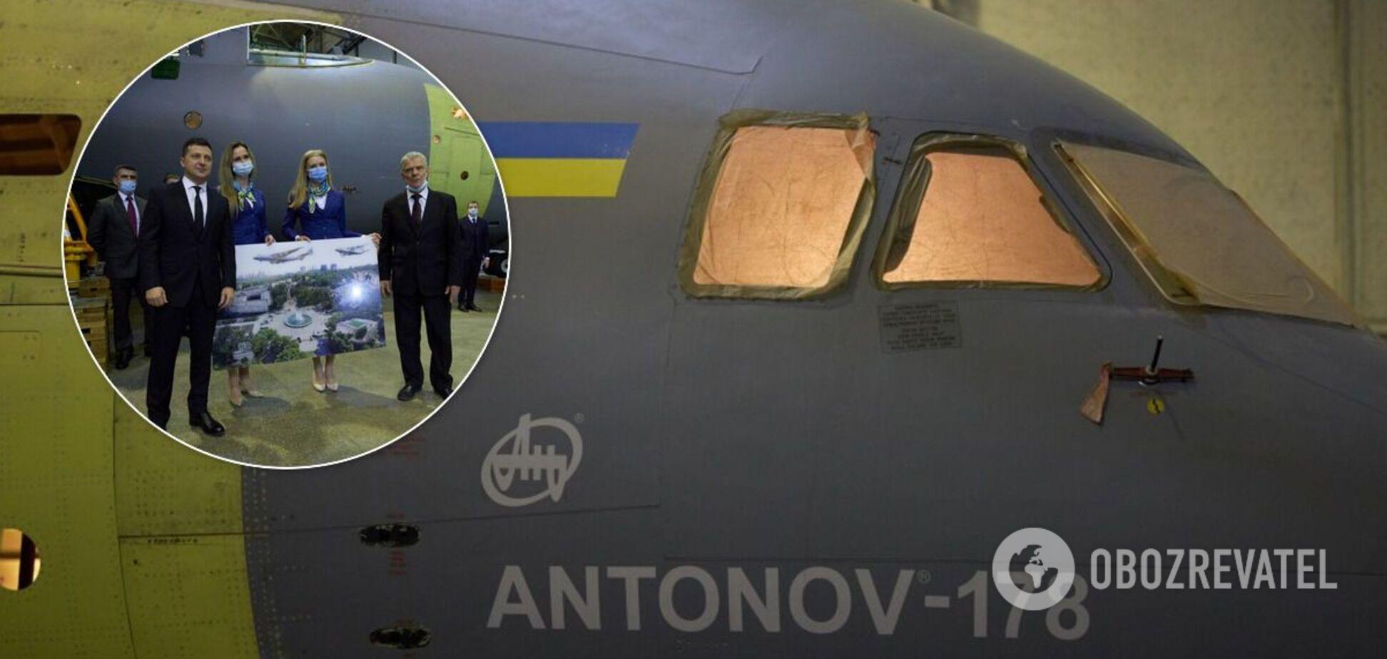 'Антонов' побудує три українські літаки Ан-178 для ЗСУ: підписано меморандум