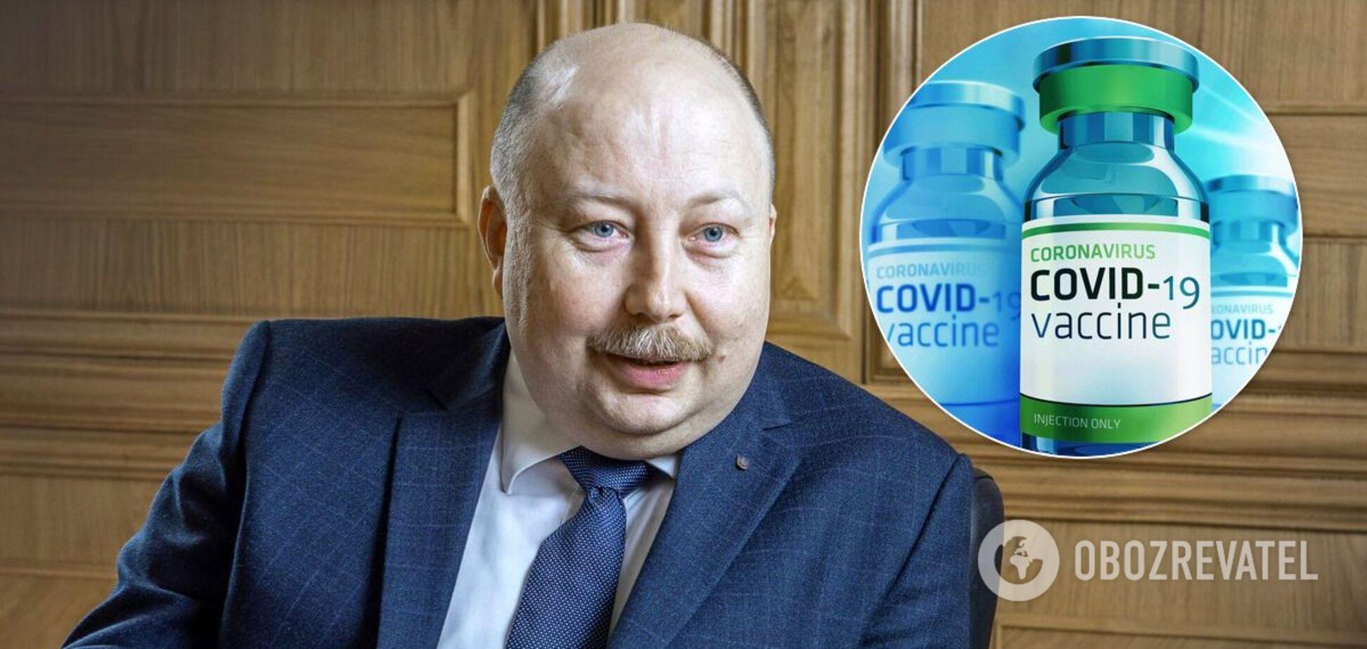 Україна отримає вдвічі більше безкоштовних доз вакцини проти COVID-19, – Немчінов