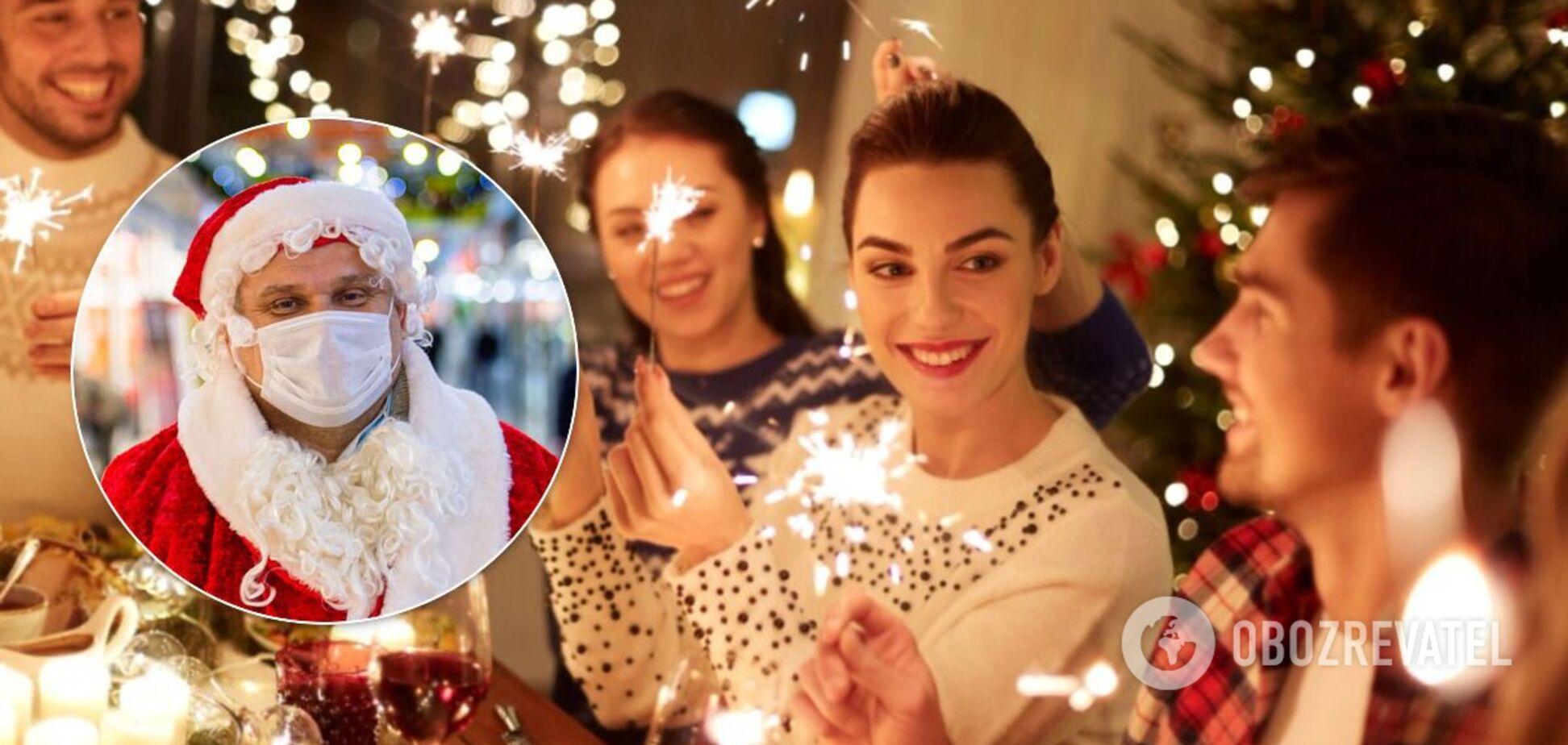 Лікарка закликала українців не святкувати Новий рік так, як Миколая