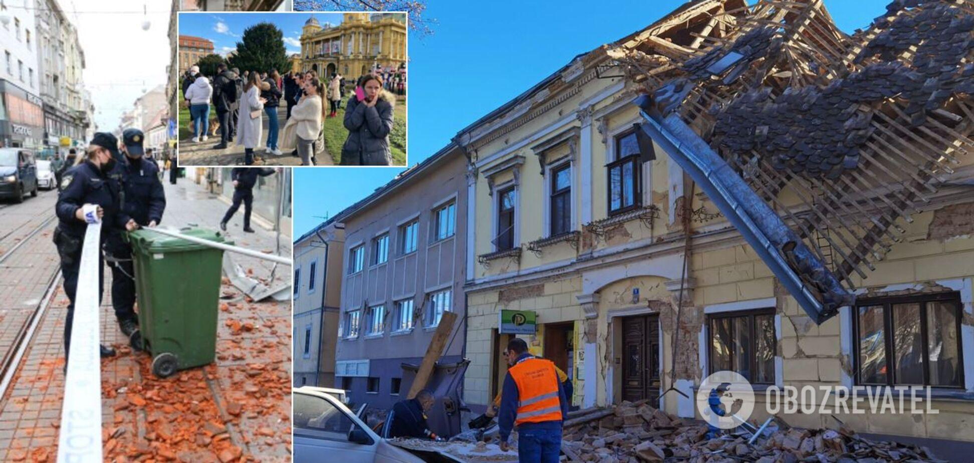 Землетрус у Хорватії