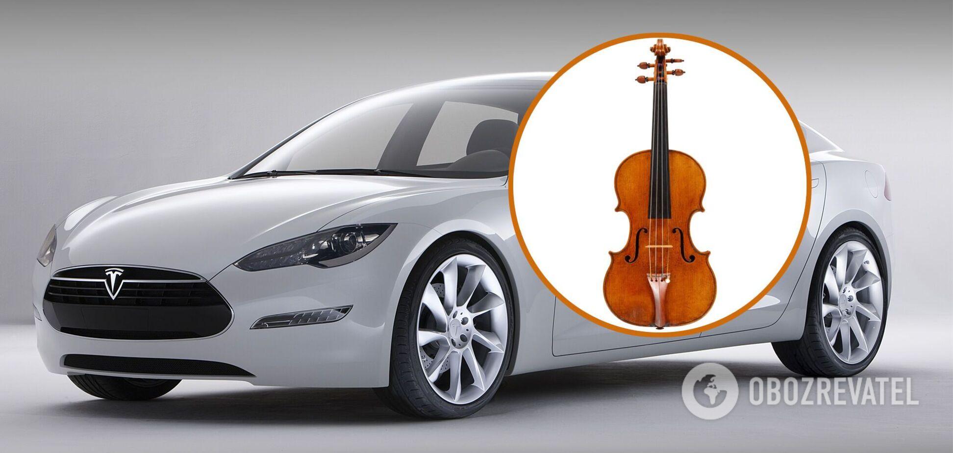 В США похищена Tesla с уникальной скрипкой Амати за $500 тыс.
