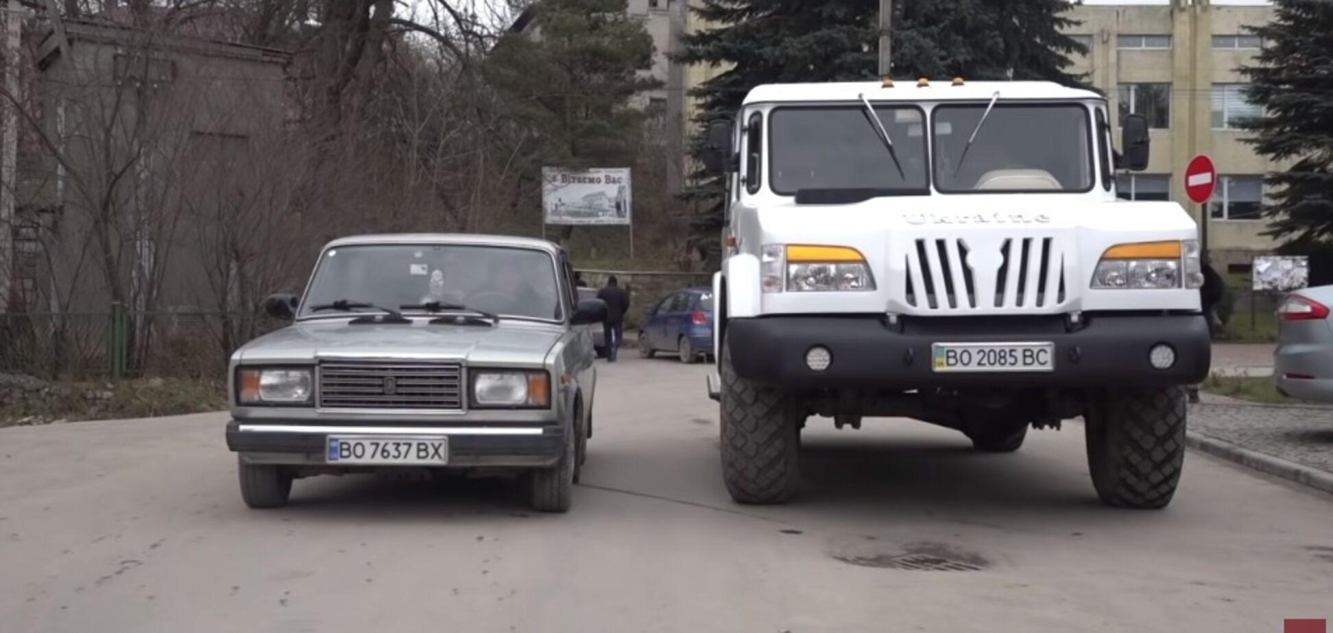 Огромный внедорожник под названием 'Украина' показали на видео