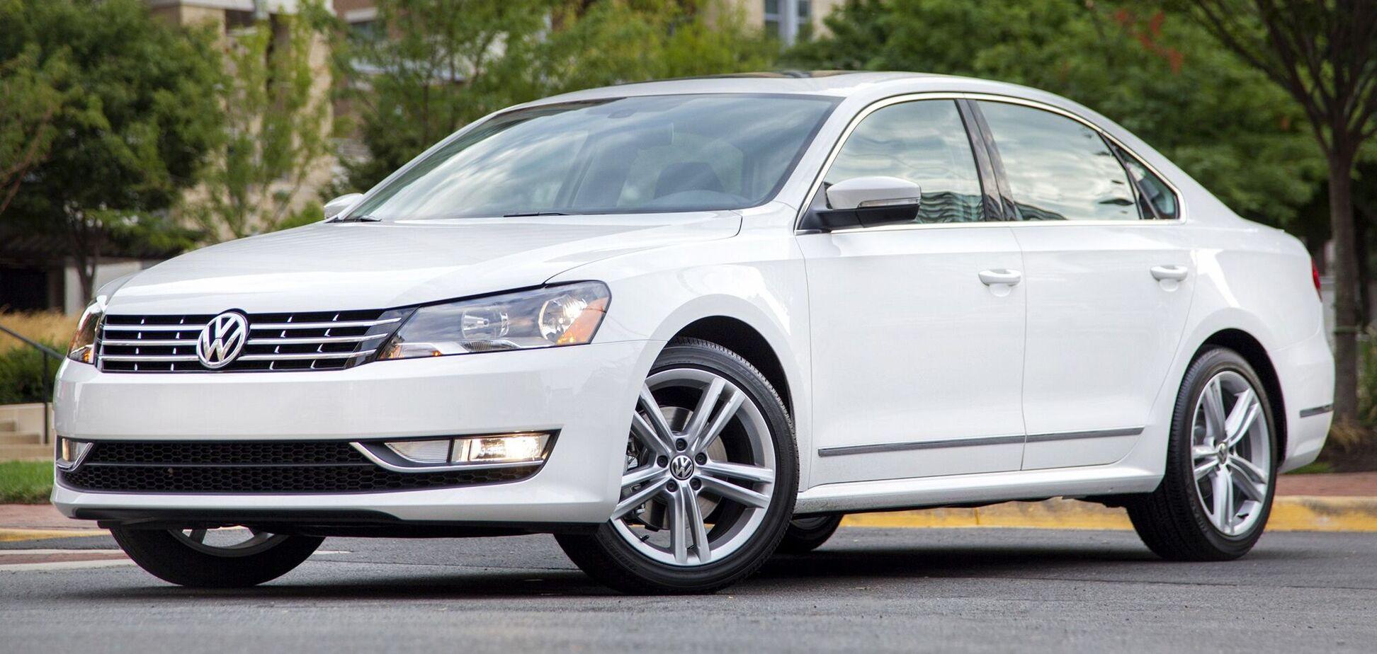 Названы особенности и цены на дизельные VW Passat из США