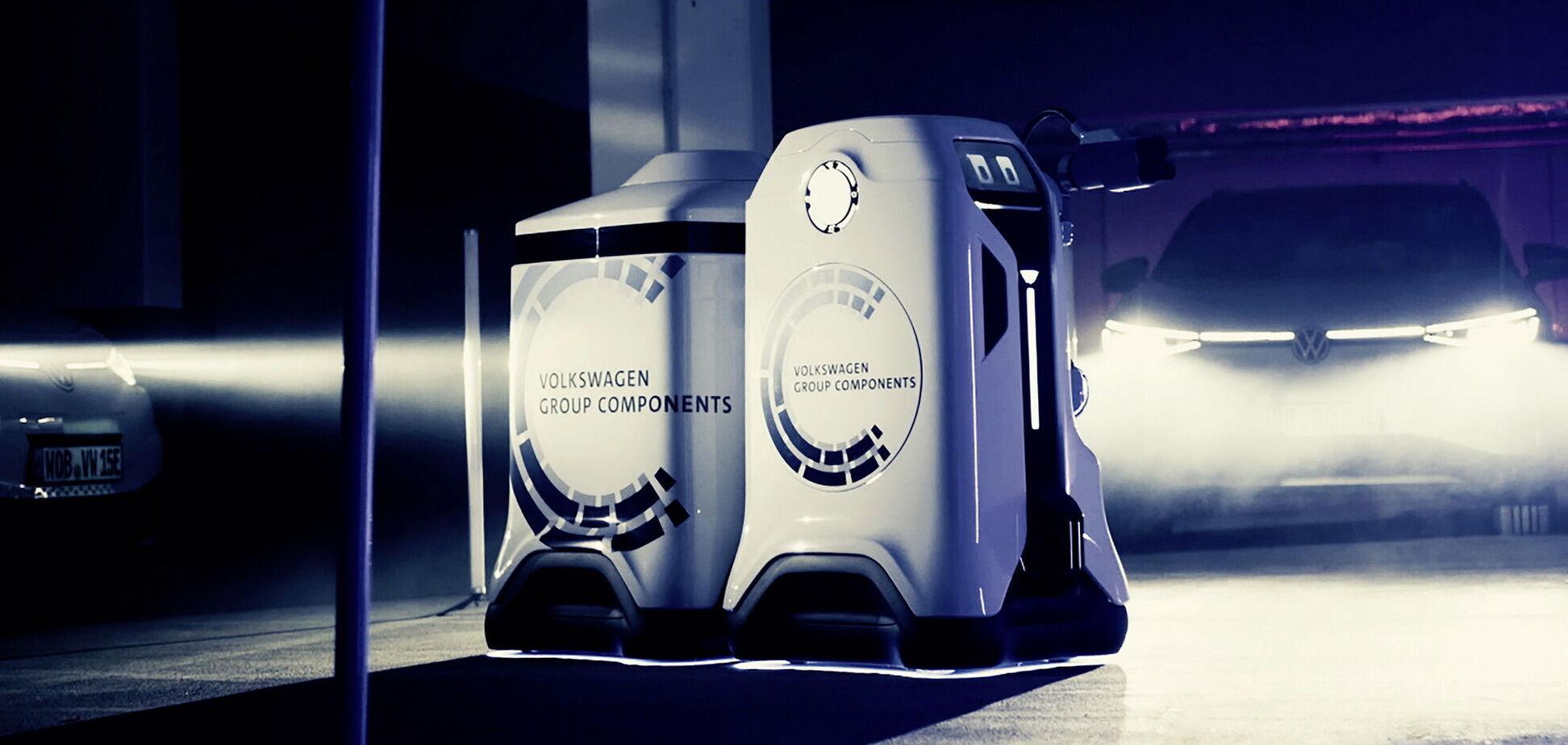Volkswagen довірить зарядку електромобілів роботам