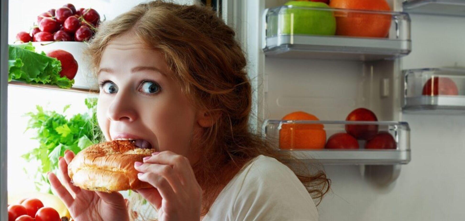 Продукти, які не варто їсти перед сном