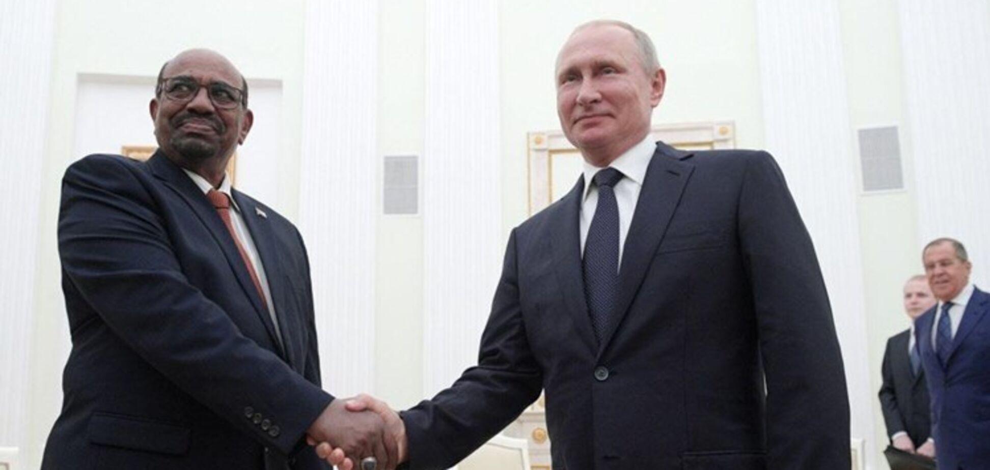 Володимир Путін і Омар аль-Башир