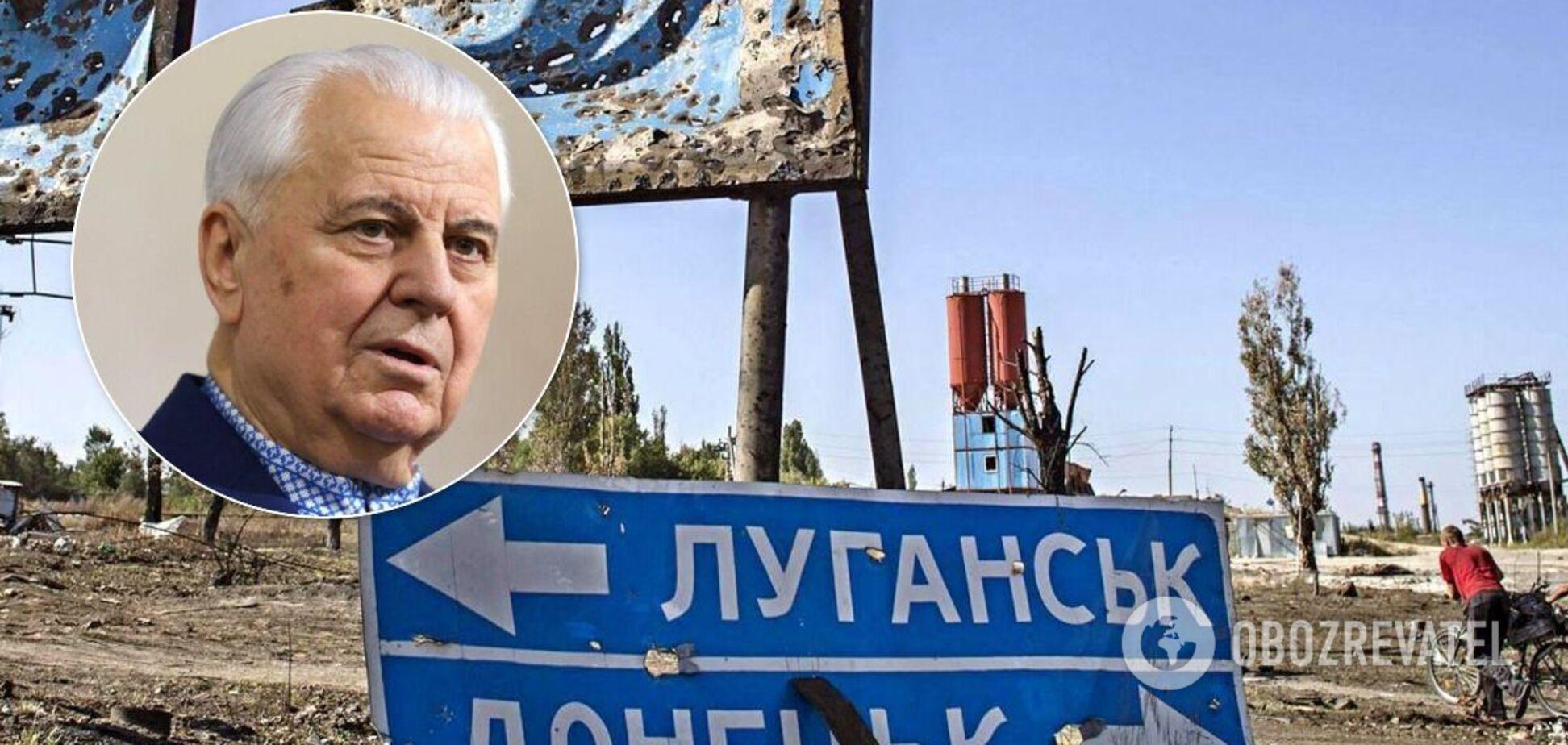 Рахманин пояснил, что стоит за планом Кравчука по Донбассу: есть три варианта