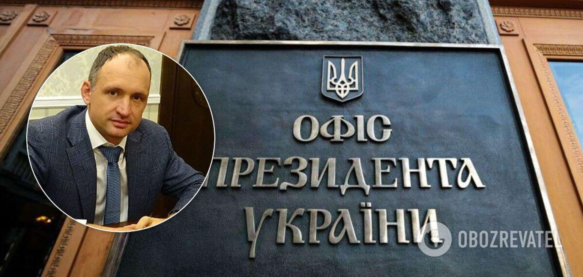 Тесть Татарова получил землю в Киеве после его назначения