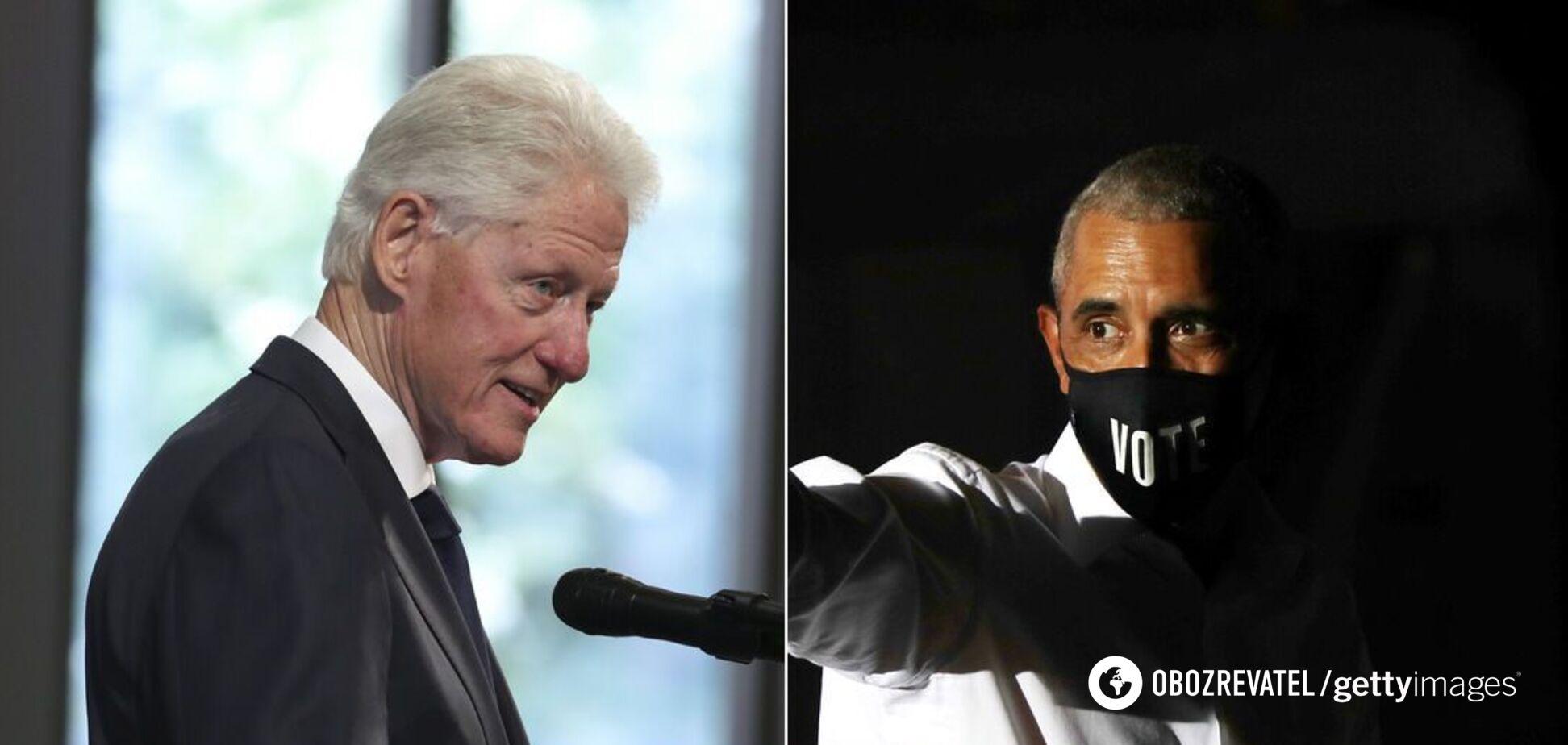 Обама, Клінтон і Буш готові публічно вакцинуватися