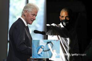 Обама, Клинтон и Буш готовы публично вакцинироваться