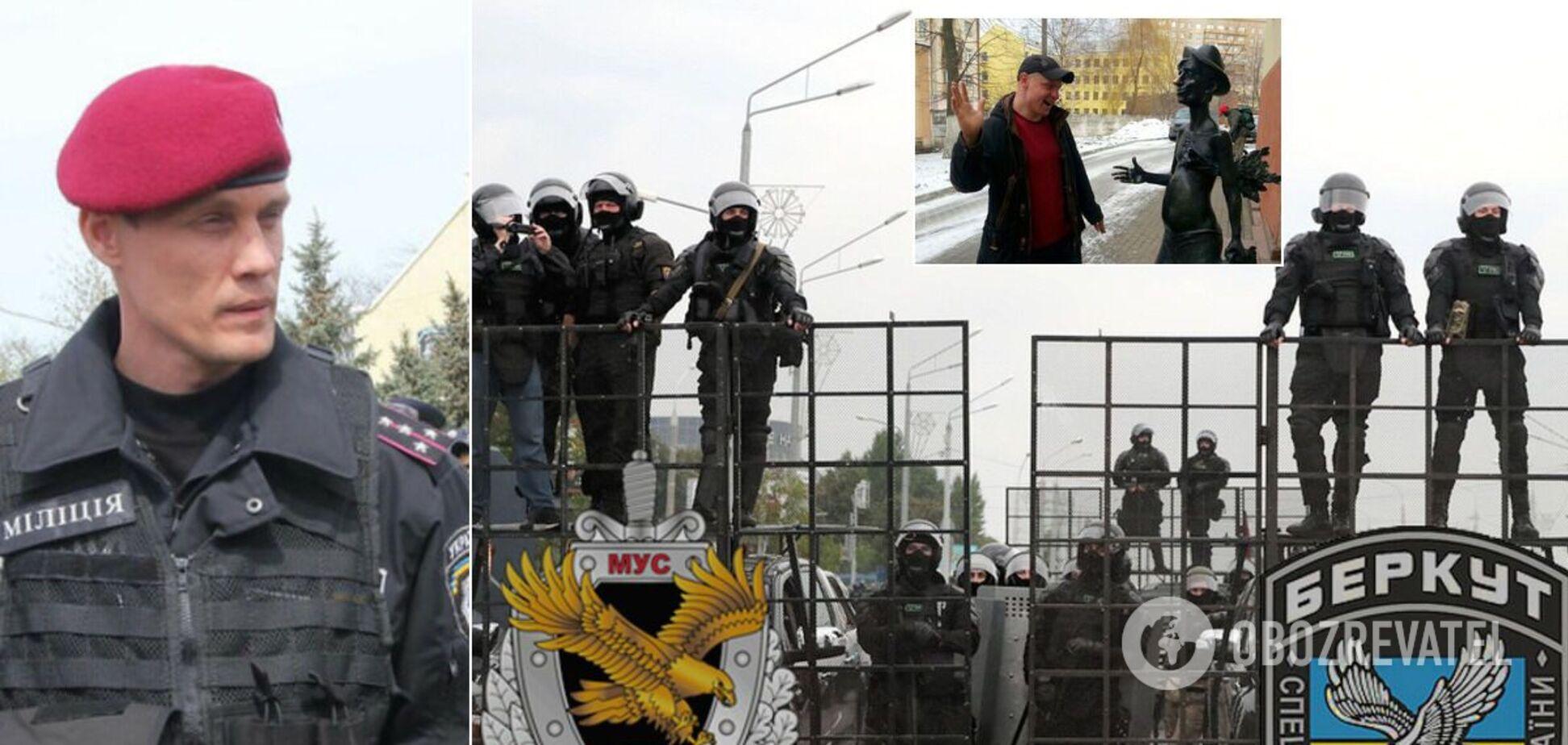 Ексбійців українського 'Беркуту' викрили в розгоні протестів у Білорусі. Фото