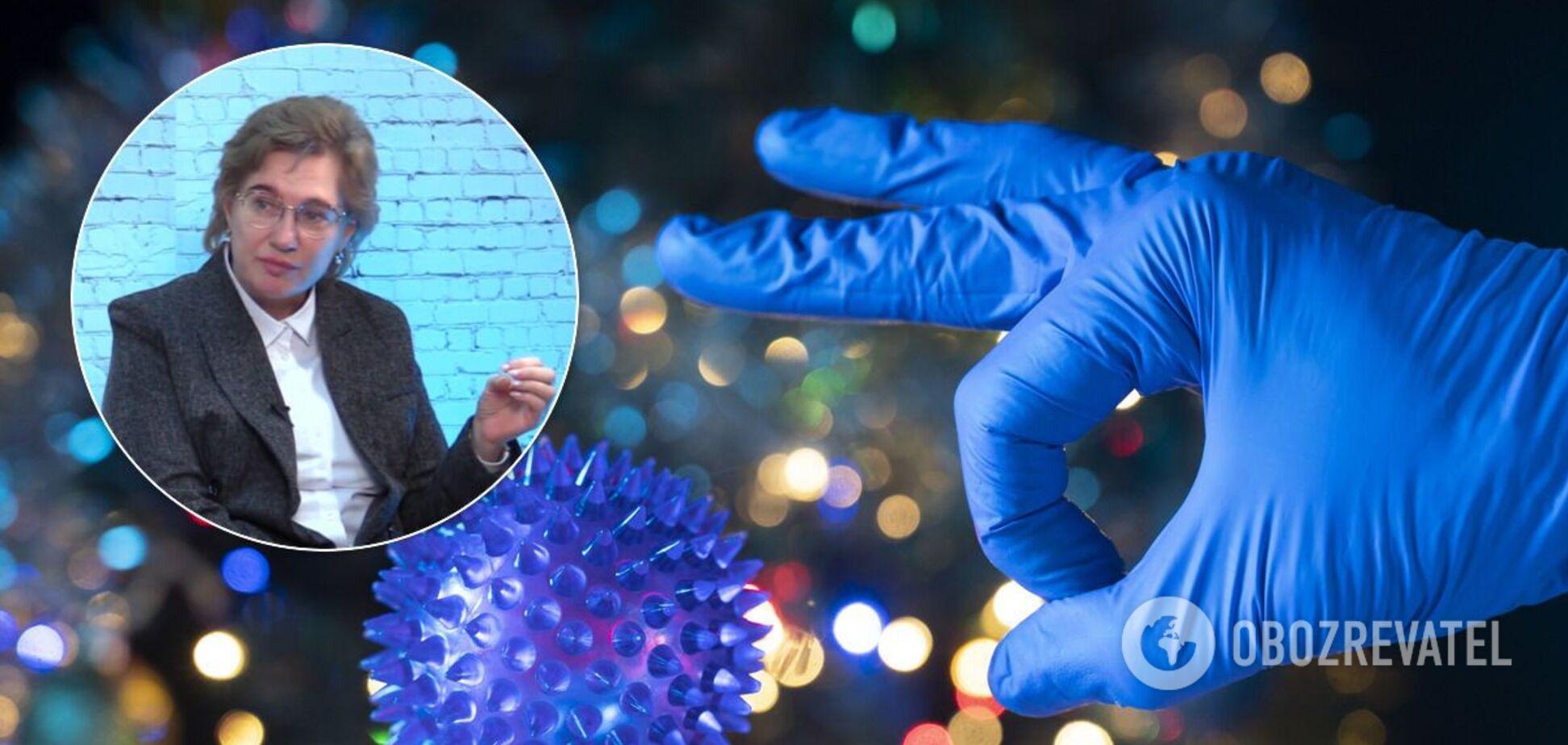 Голубовская объяснила, почему зимой болеть коронавирусом опаснее
