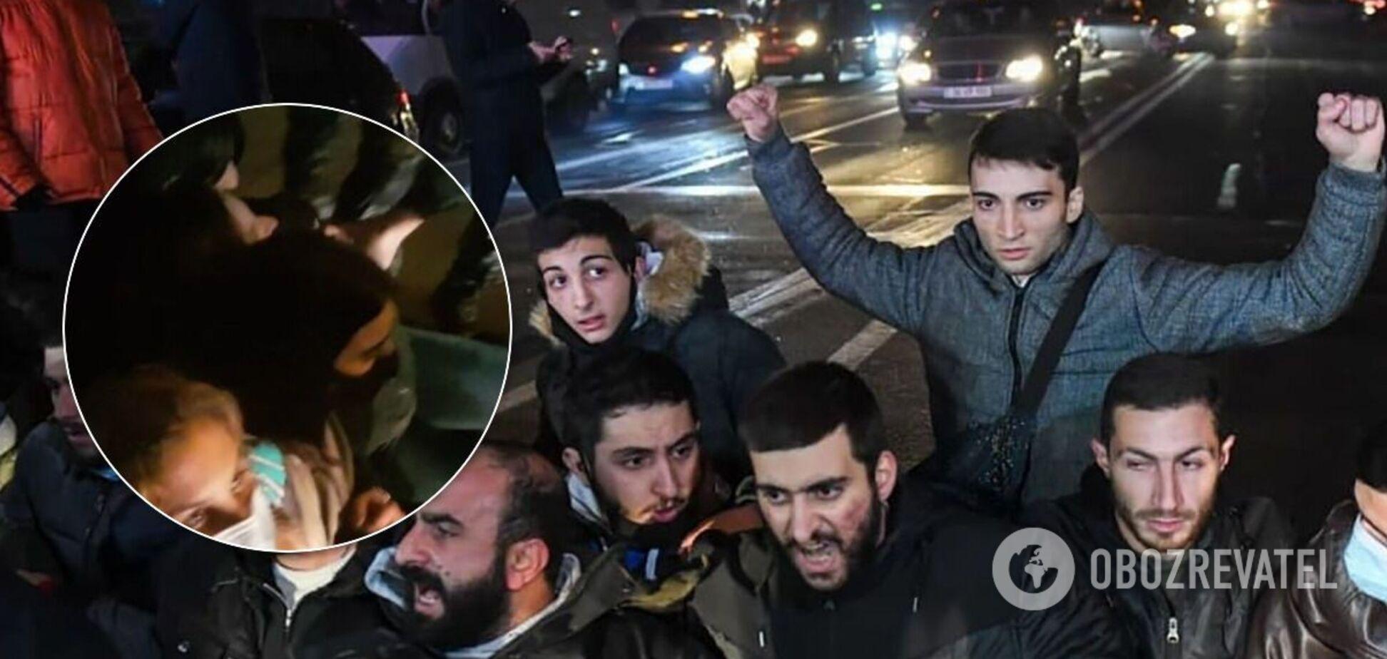 Протести в Єревані 3 грудня