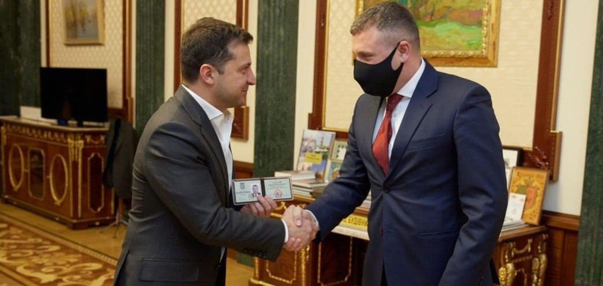 Зеленський вручив Гамалію посвідчення голови ОДА