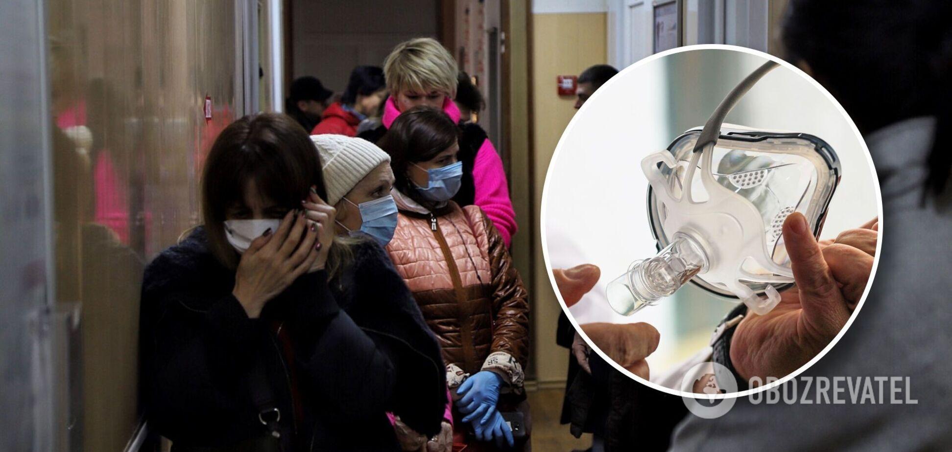 Хворим на COVID-19 не вистачає кисню: хто винен у тому, що українці задихаються