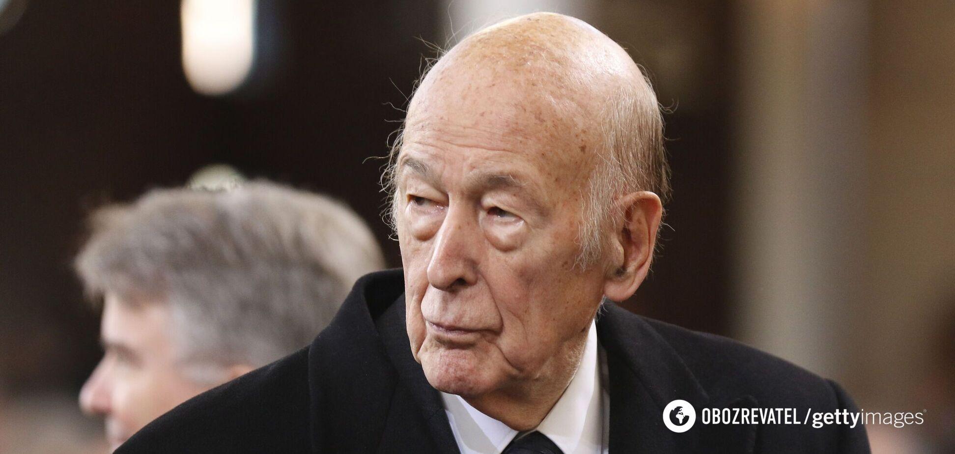 Валері Жискар д'Естену було 74 роки