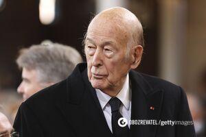 Валери Жискар д'Эстену было 74 года