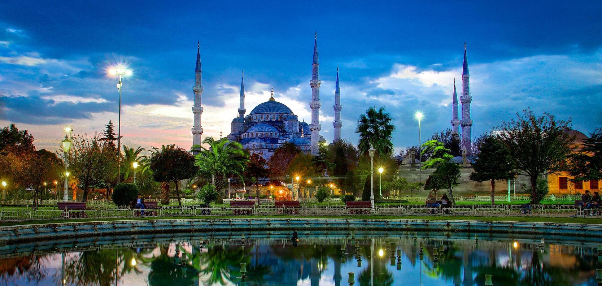 Стамбул – Мечеть Султанахмета