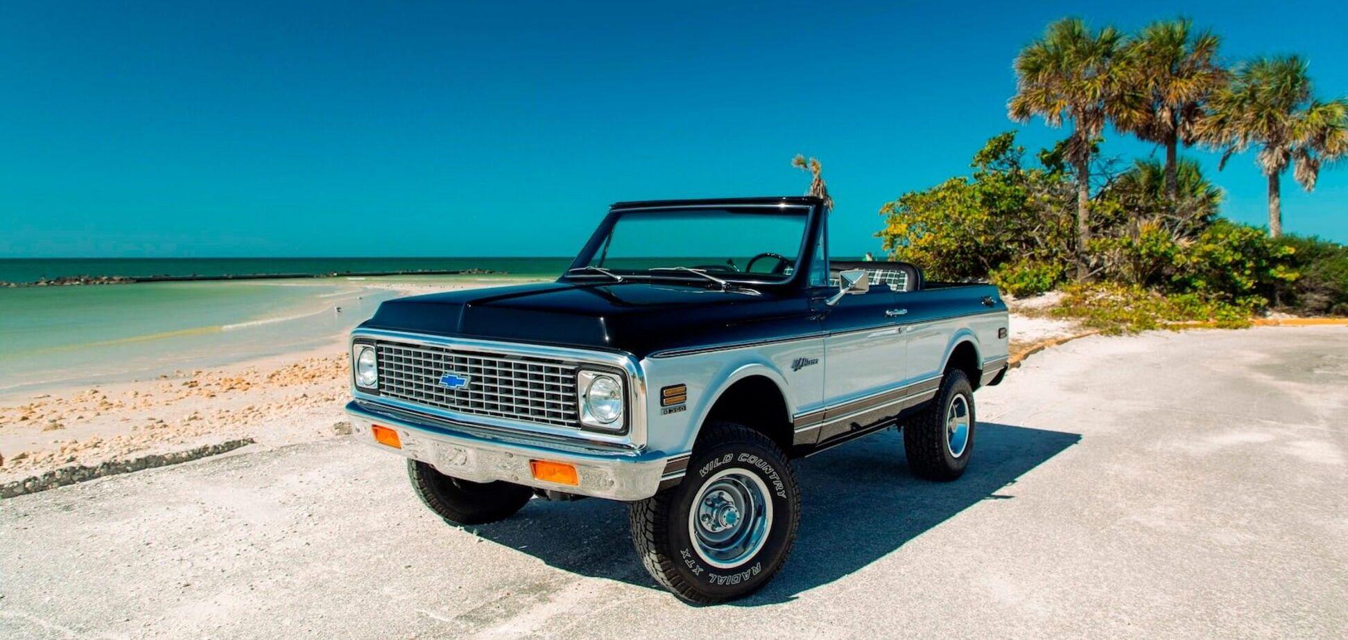 На аукцион выставили 'пляжный' внедорожник Chevrolet