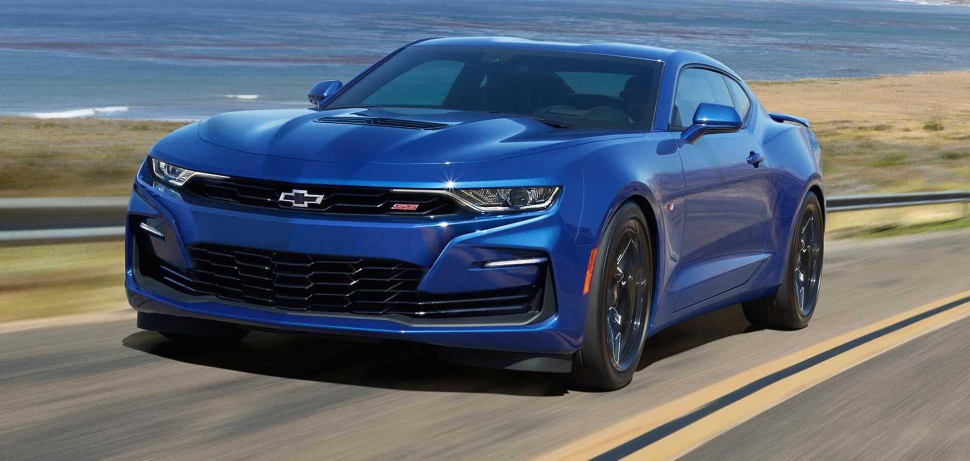 General Motors відправить на пенсію Chevrolet Camaro