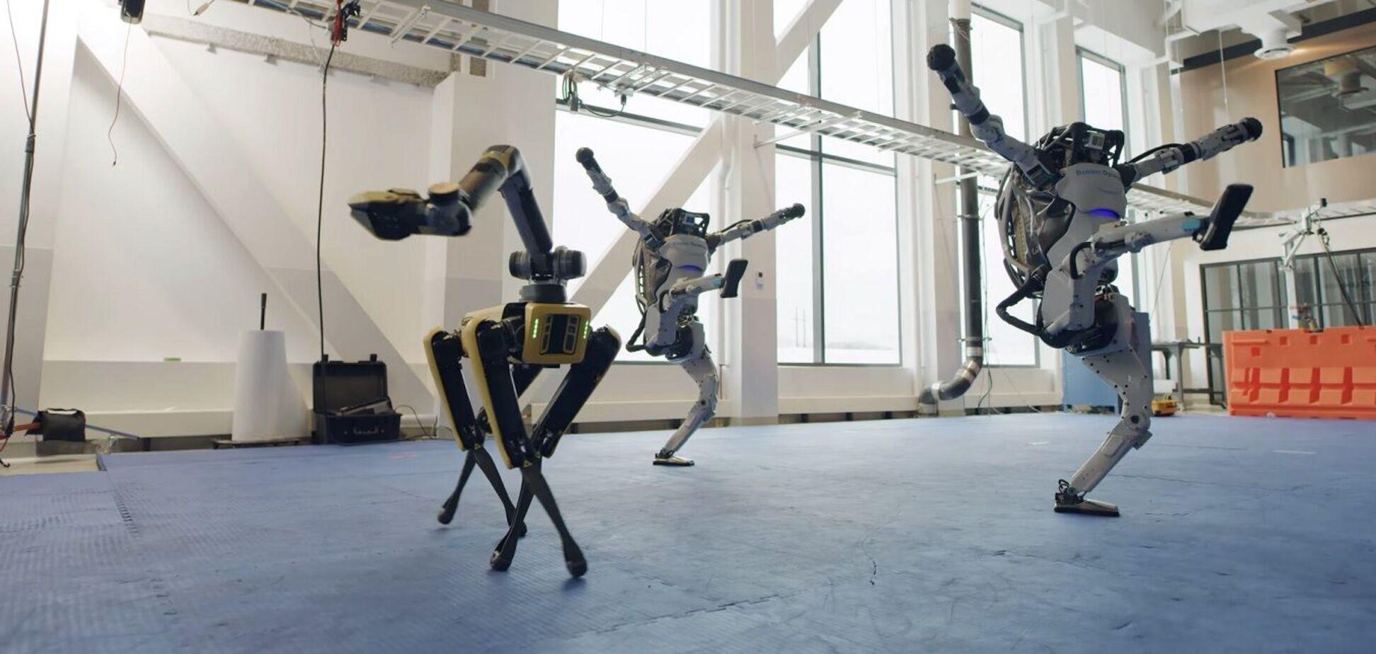 Роботи Boston Dynamics станцювали під українську пісню. Відео