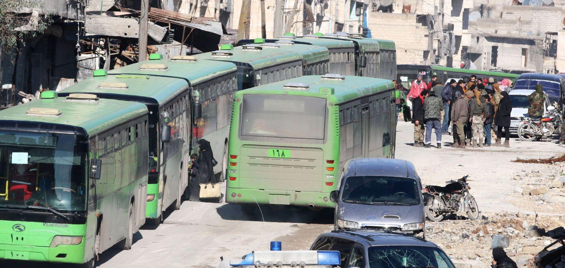 Автобус в Сирии