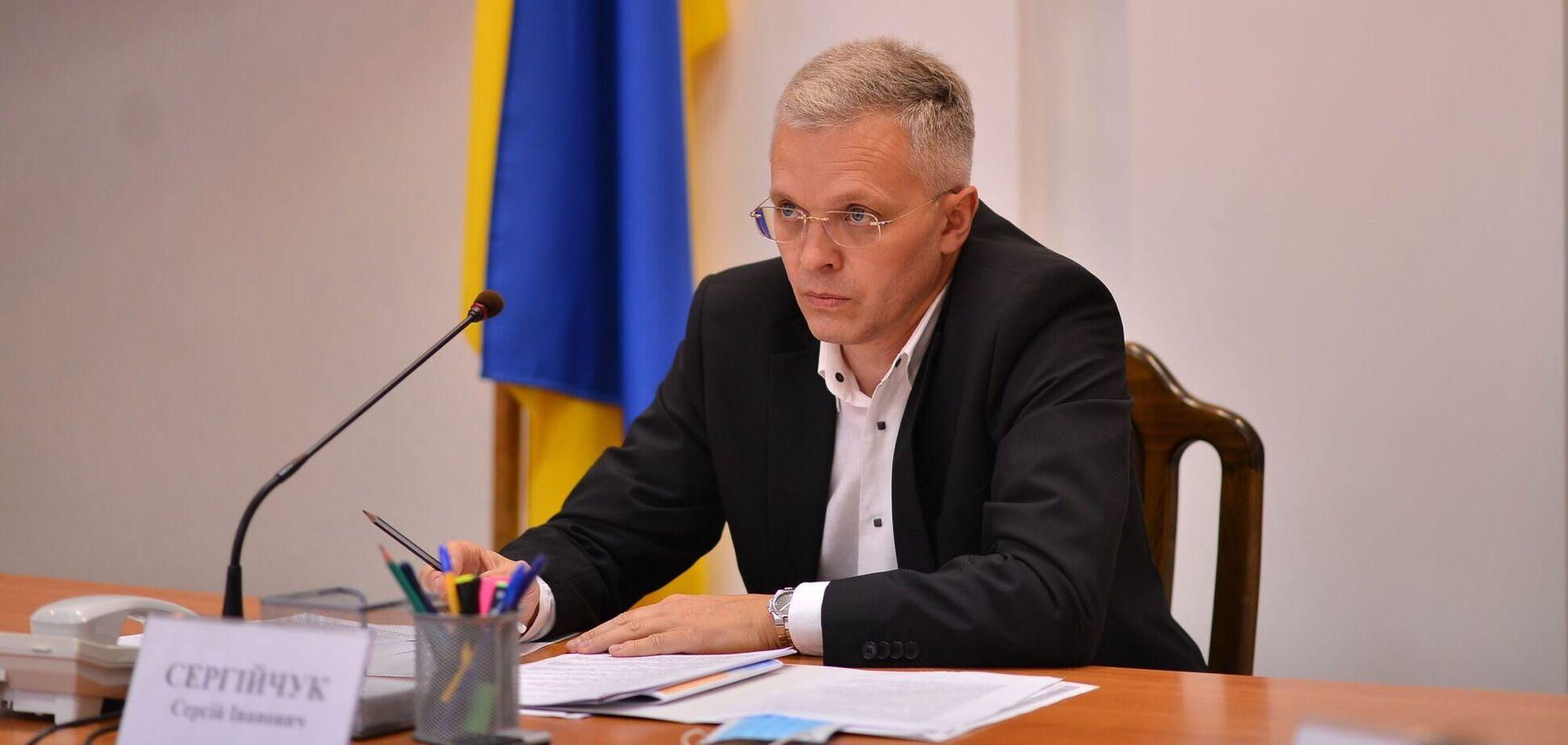 Бывший глава Черкасской областной администрации Сергей Сергийчук