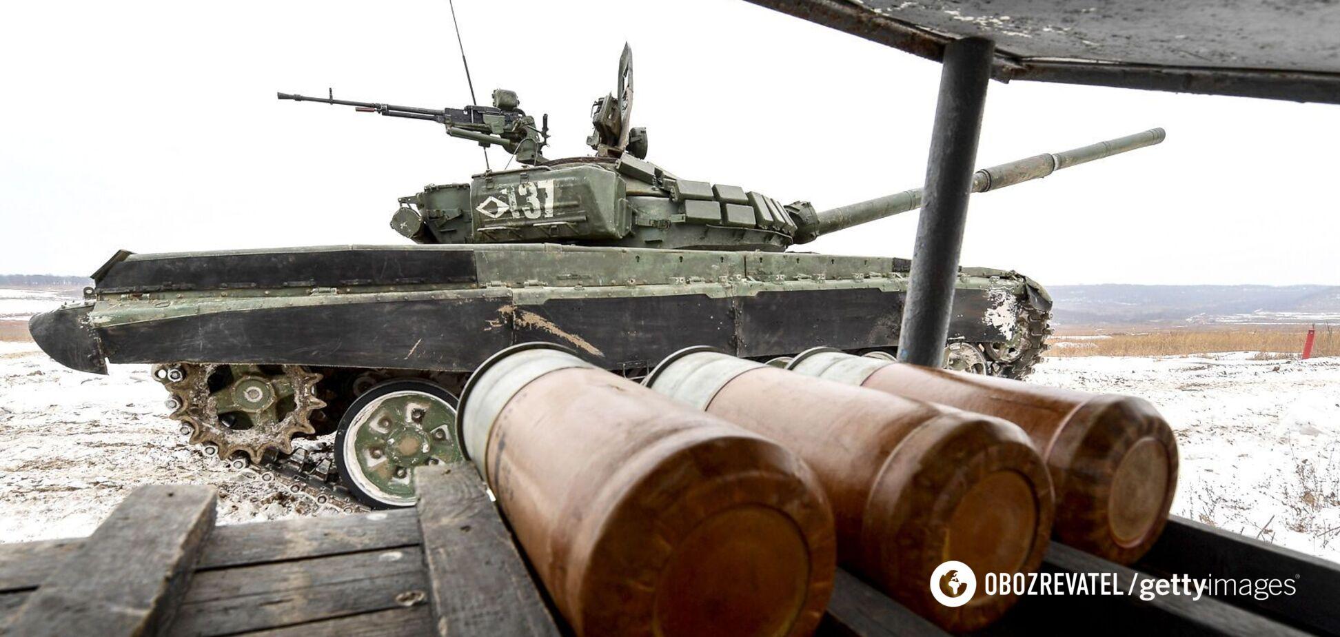 Хомчак: на Донбасс зашли танки России