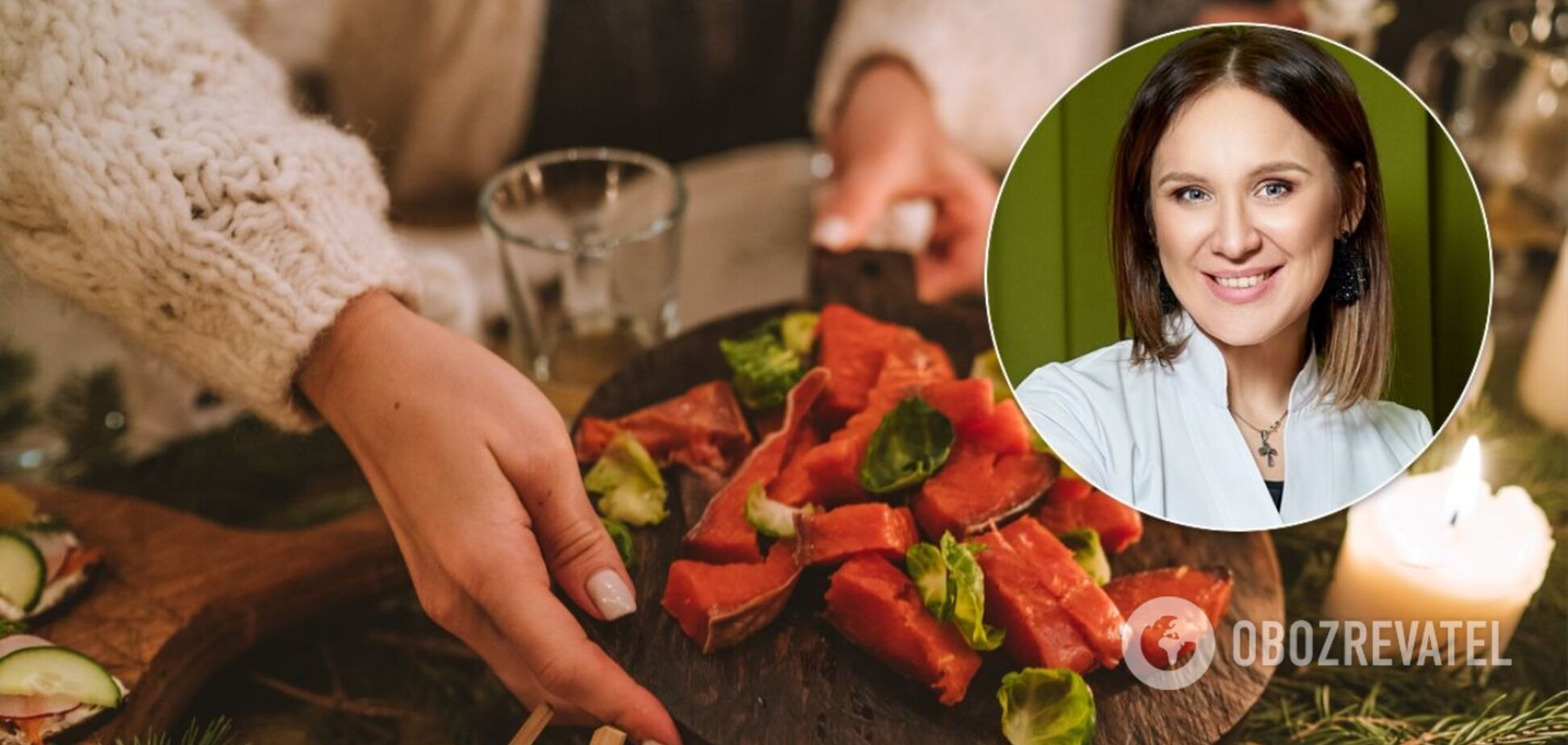 Зіркова дієтологиня Наталія Самойленко розповіла, як не погладшати після новорічного застілля