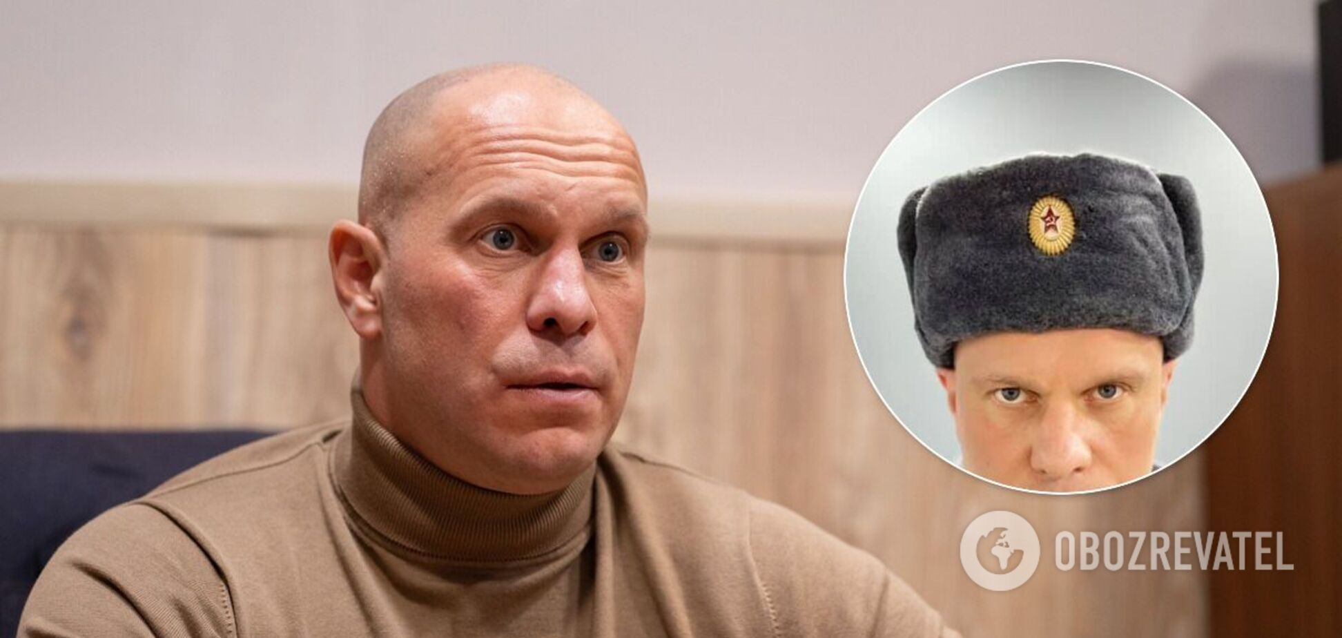 Кива надел советскую шапку-ушанку со звездой и призвал его арестовать. Фото