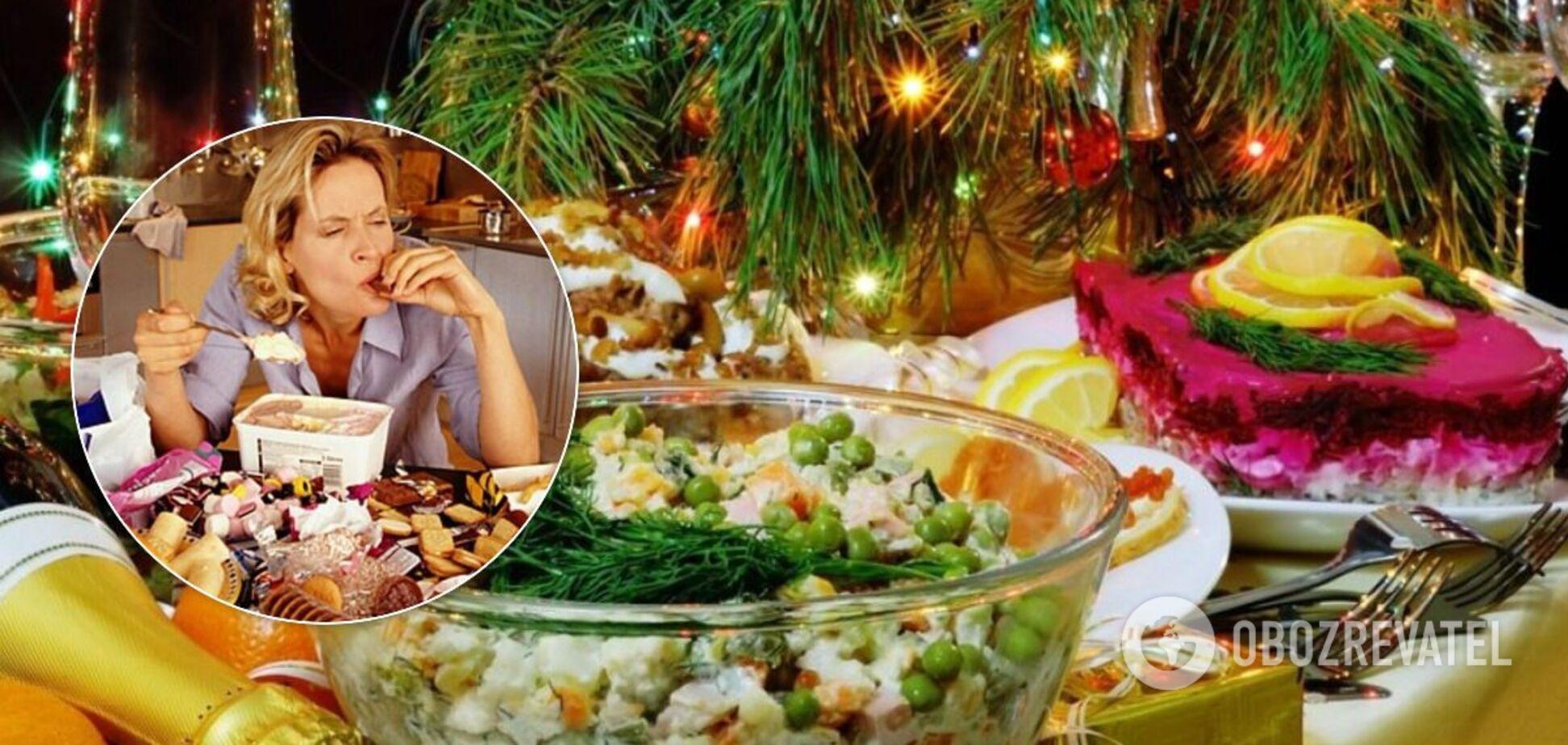 Новый год и лишние килограммы: озвучены полезные советы