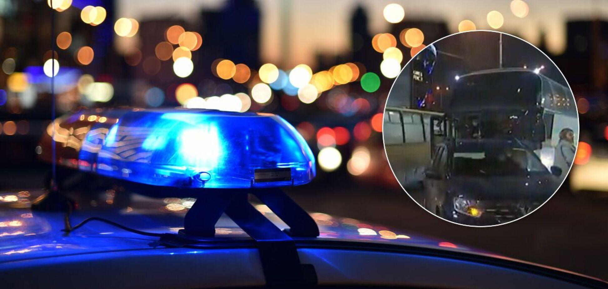 Полиция составила два админматериала на виновника ДТП
