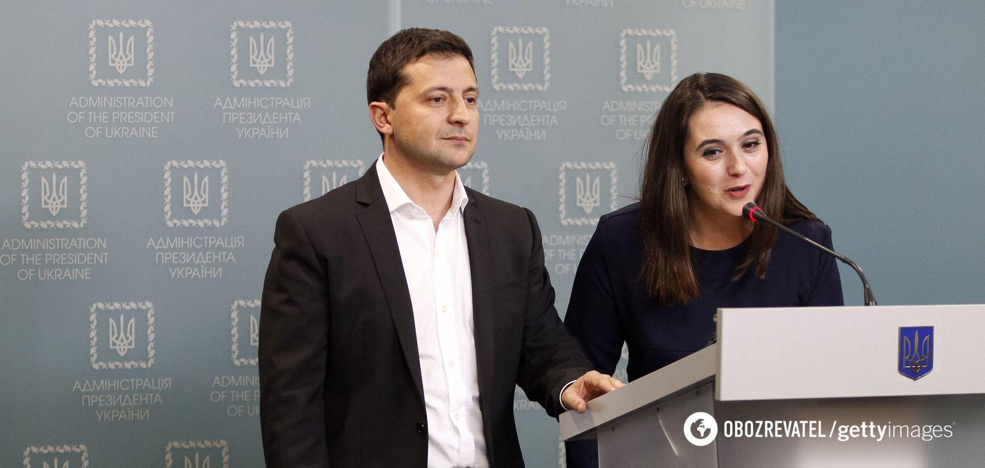Володимир Зеленський і Юлія Мендель