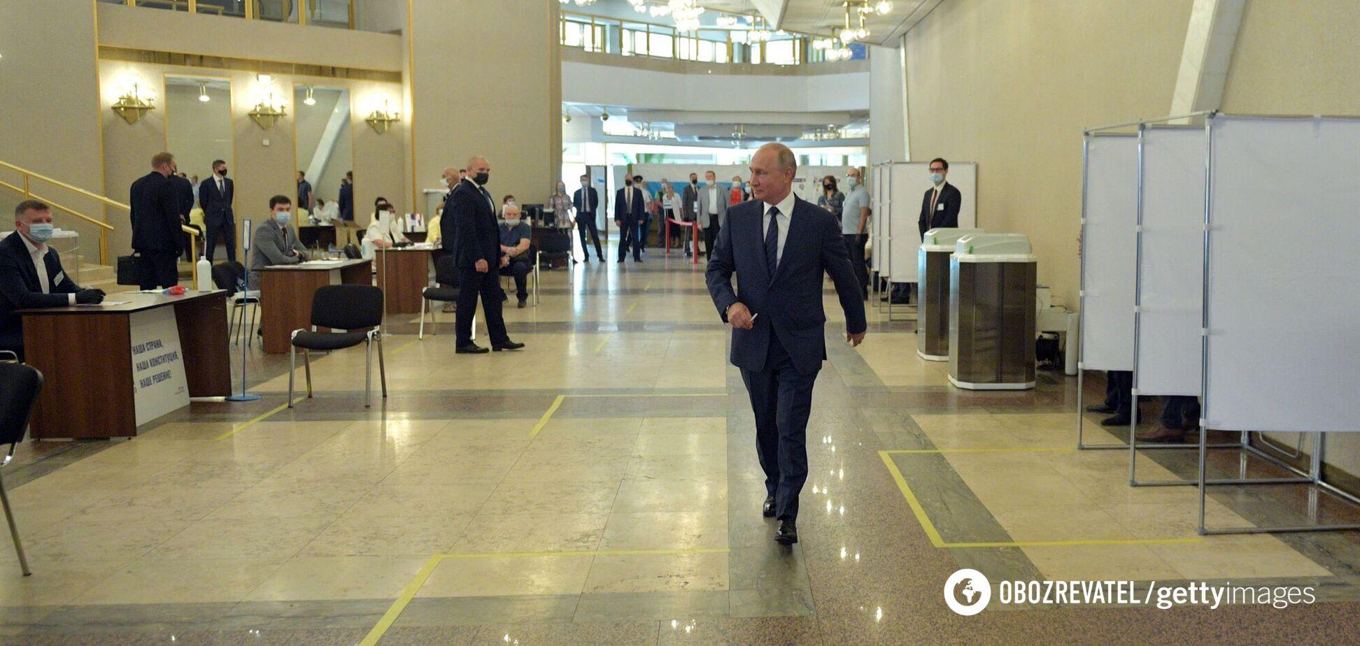 Підсумки року для Путіна: 'обнулення' вийшло жалюгідним