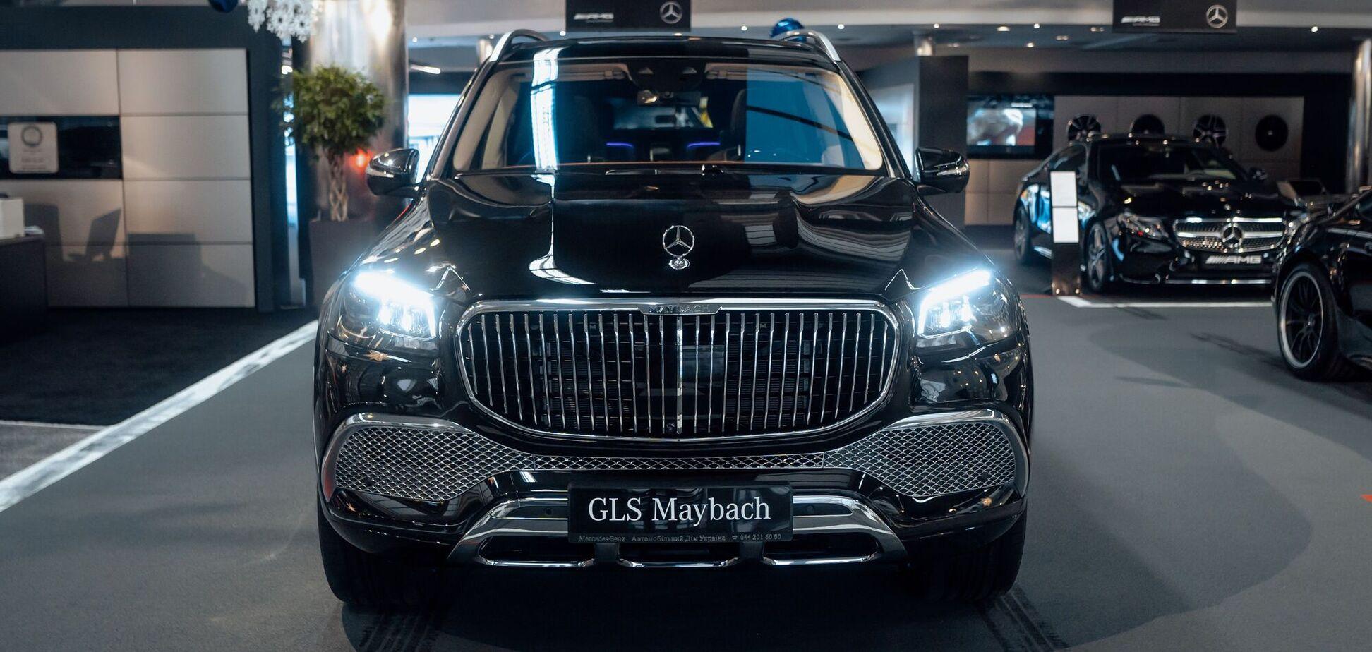 Cемейство Mercedes-Maybach в Украине пополнил роскошный внедорожник