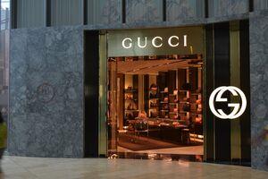 Магазин бренда Gucci