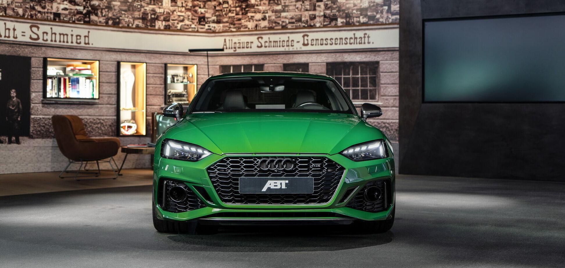 Ателье Abt показала новую мощную версию купе Audi RS5