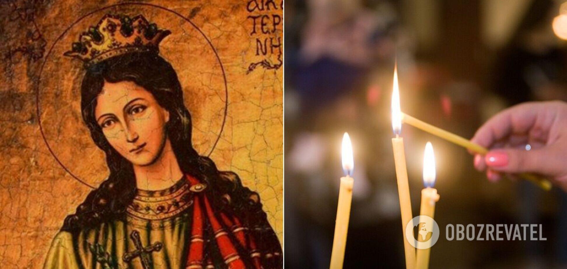 Святая Екатерина считается покровительницей любви и брака