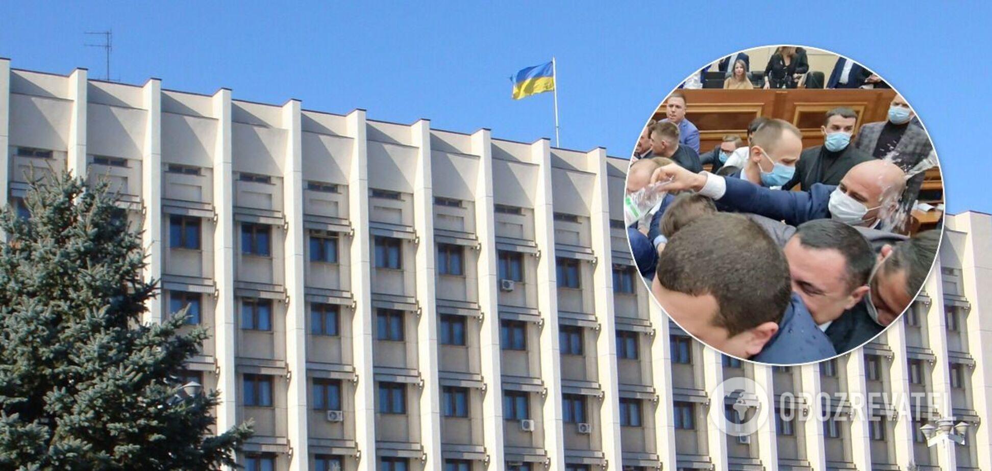 Одеські депутати побилися