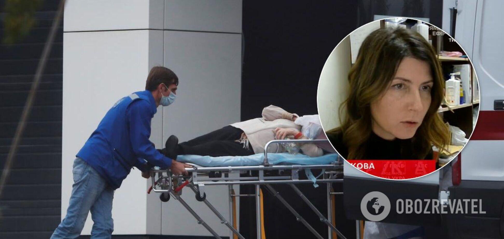 Ножевникова рассказала о ситуации в одесских больницах