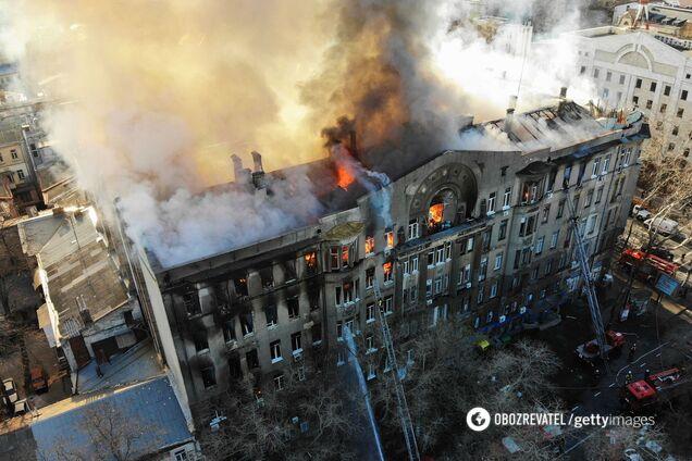 Річниця пожежі в одеському коледжі: сім'ї загиблих згадували про трагедію, що забрала життя 16 осіб